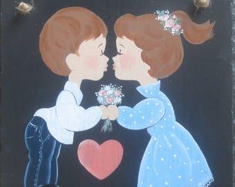 KISSIN' KIDS in LOVE Slate