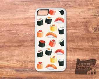 sushi / sushi phone case / sushi iPhone case / iPhone 7 case / iPhone 6 case / iPhone case / iPhone 7 plus case / iPhone 6s case / iPhone 6