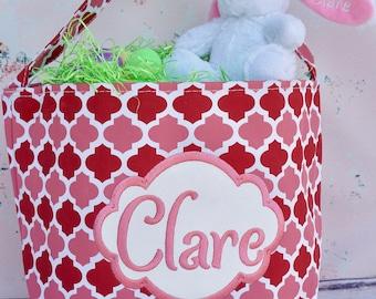 Girls Easter Basket, Personalized Easter Basket, Easter Basket, Personalized Easter Bucket, Kids Easter Basket