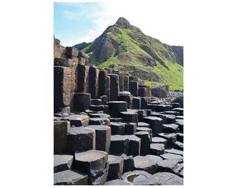 Northern Ireland, Ireland Wall Art, Ireland Photography, Ireland Travel, Giants Causeway, Travel Photography, Irish Art, Irish Wall Decor