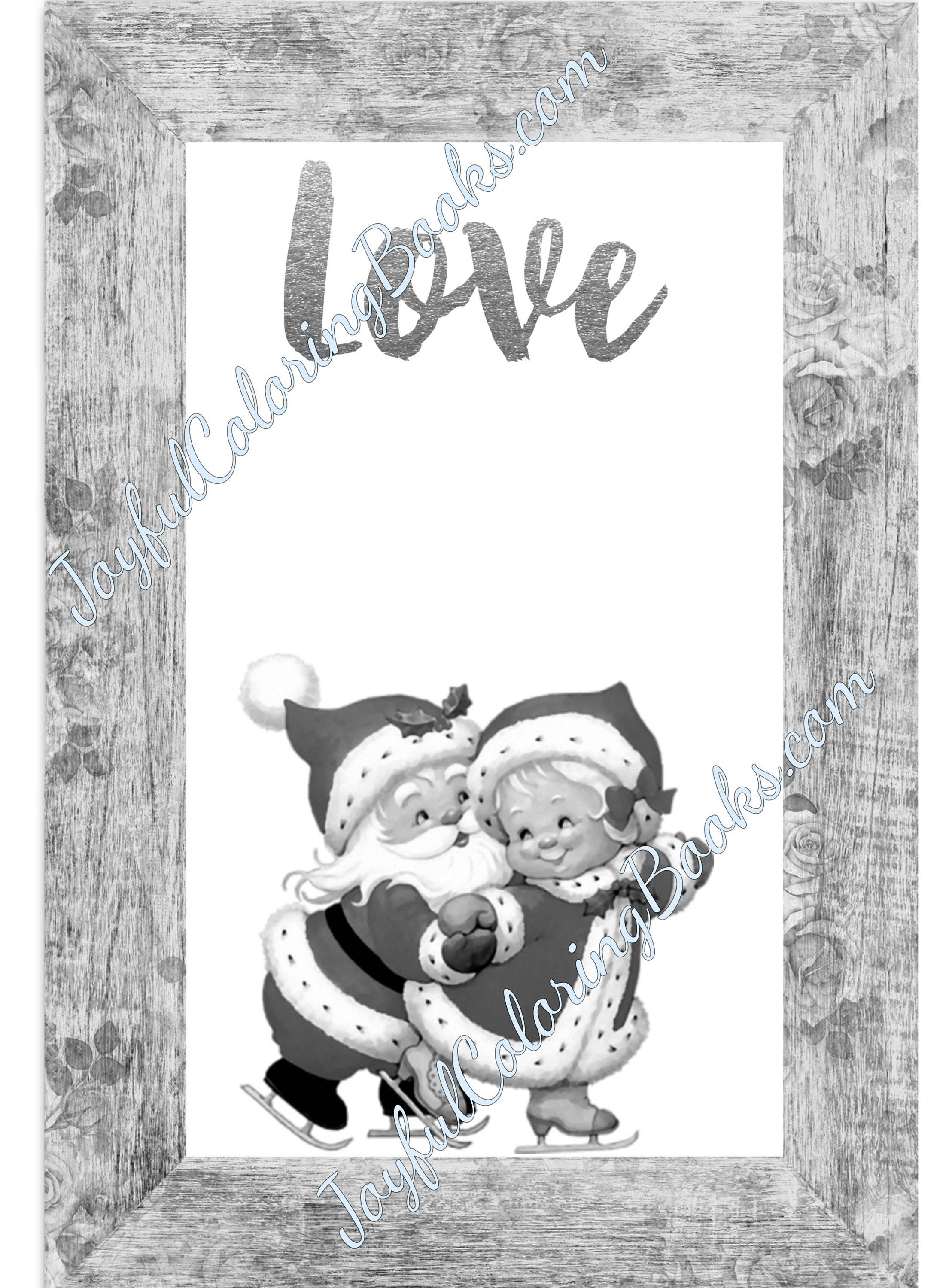 4 christmas santa u0026 snowman large gift tags pictures grayscale