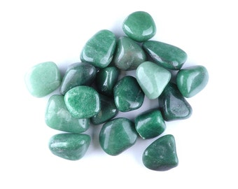Green Aventurine, Tumbled Stones by Weight!