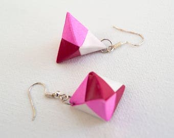 Toshie's Jewel Origami Earrings