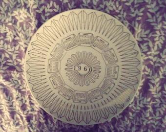 1960 Calander Plate (Versitile)