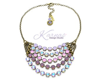 UNICORN TEARS 2018 Spring/Summer 8mm Necklace Genuine Swarovski Crystal *Choose Your Finish *Karnas Design Studio™ *Free Shipping*