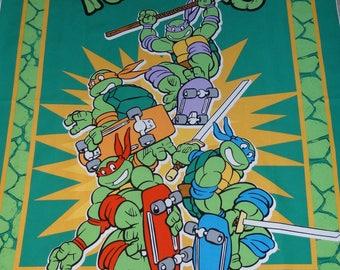Teenage Mutant Ninja Turtles Fabric Panel, New