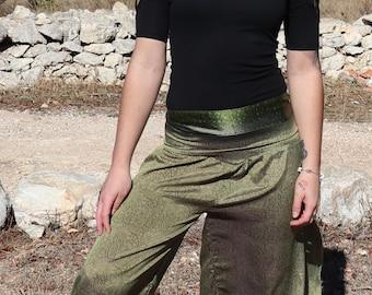Bell Bottom Pants,Festival Hippie Faerie Pants,Wide Leg Trousers,Womens Pants,Aladdin Pants,Elven Clothing,Hippie Trousers,Afghani Pants