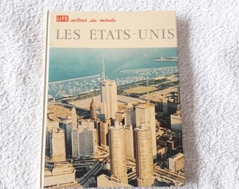 LIFE  60s Book about the US - Text in French