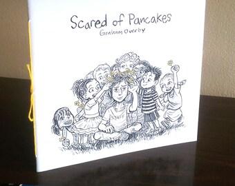 Scared of Pancakes [Autobio Mini Comic]