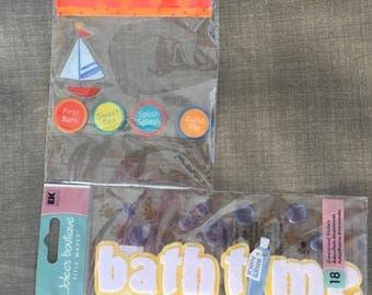 Scrapbooking Stinckers Baby Bath Time