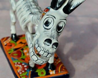 Talavera Donkey//  Talavera Day of the Dead