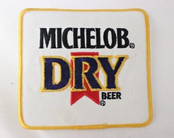 HUGE Michelob Dry Beer Patch