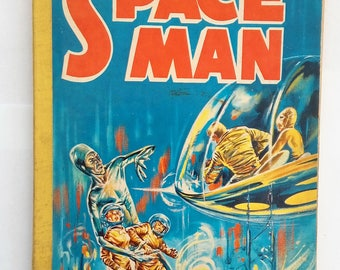Space man comic album issue 1 full colour vintage space man annual