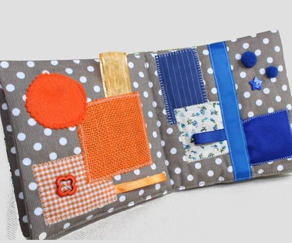 articles similaires livre eveil montessori livre sensoriel tactile livre tissu fait main. Black Bedroom Furniture Sets. Home Design Ideas