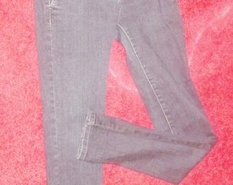 skinny leggins Jeans pants midriff slacks distress Junior size 3 refuge Brand retro