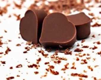 Salted Habanero Milk Chocolate Hearts - 15 count