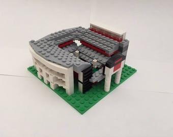 Georgia Sanford Stadium Brick Model - Desktop Size with Free Shipping