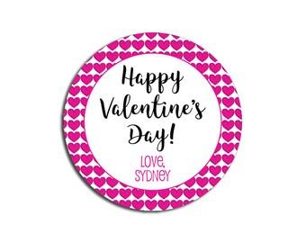 Valentine Stickers | Etsy