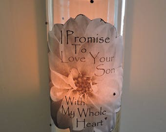 Mother in Law Candle Holder | Mother in Law Gift | Future Mother in Law Gift | Gifts for Mother in Law From Daughter in Law
