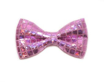 Lilac Party Bow,  Dog bow tie, Cat bow tie, pet bow tie, collar bow tie, wedding bow tie