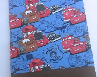 STANDARD Personalized Pillow Case made with Cars Fabric