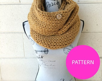 KNIT PATTERN The Basic Betch Scarf, knit scarf pattern, basic betch, knit scarf,