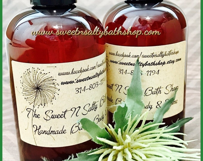Earthy Scents Body Wash/Shower Gel/Bamboo Green Tea/Desert Sage/Fresh Outdoors/Spearmint Eucalyptus and More!!