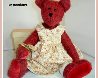The Caroline collection mohair and cashmere bear