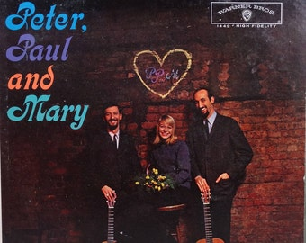 Peter, Paul And Mary - Peter, Paul And Mary  1962 (LP, Album, Vinyl Record) Country, Folk-  Music
