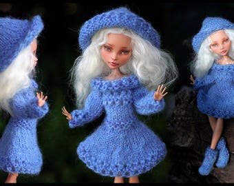 Five Knitted Outfits for Monster High | Ever After High dolls