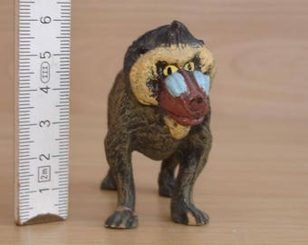 Monkey-Baboon figure-presumably Hausser Elastolin at 1960