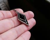 Reserved for Stevie-Black Onyx pendant
