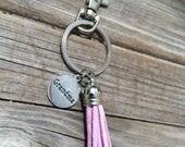 Grandma Tassel Keychain, keychain, Grandma charm keychain, purse keychain, gifts for her, Gifts for Grandma