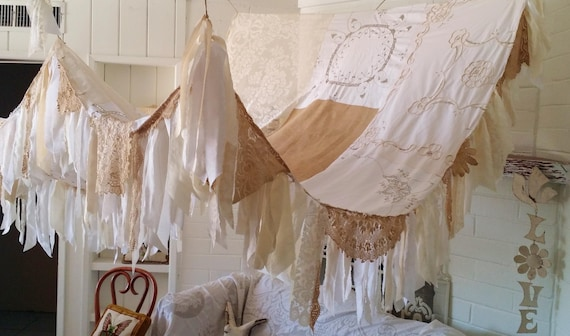 Bed Canopy Made To Order Boho Bedroom Decor Shabby Chic