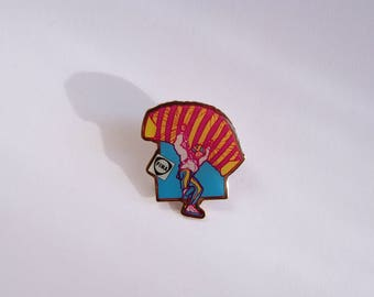 Colorful pin's from the 80's FINA