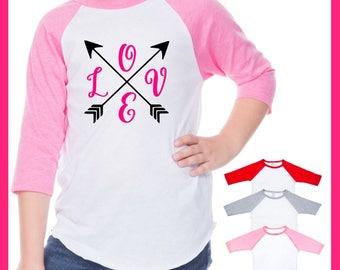 Kids Valentines Shirt | Girls valentines Day Shirt | Valentines Day Shirt | Toddler Girl