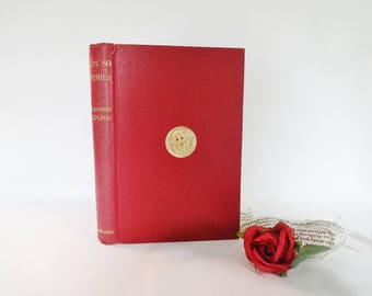 Just So Stories by Rudyard Kipling / 1917 Macmillan and Co., Ltd, London / Early Edition in Crimson Cloth / Illustrated / In Good Condition