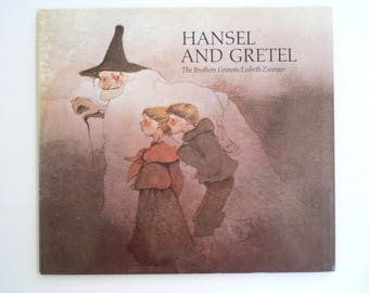 Lisbeth Zwerger Hansel and Gretel Brothers Grimm Fairy Tale Beautiful Illustrated Softcover Book Like New