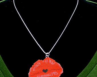 Red Love Lips Necklace