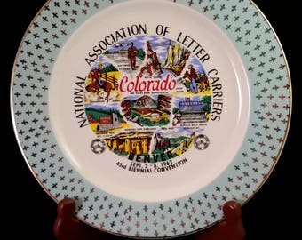 National Assoc. of Letter Carriers 43rd Biennial Convention Plate