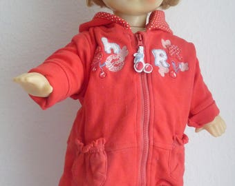 "Vintage - Russian doll - dark blonde hair - 1970-52 cm / 20.5 """