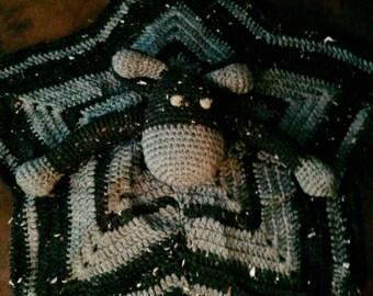 Doudou / toutou étoile ( black & Tweed)