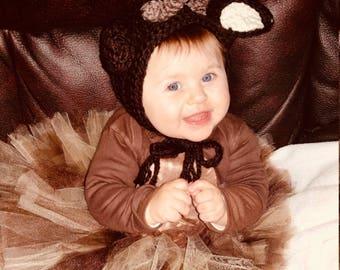 Crochet deer hat, baby deer bonnet, newborn deer bonnet, camo deer hat, baby buck deer hat, baby fawn hat, deer ears bonnet, baby antler hat