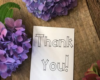 10 thank you wedding favor flower packets - personalized wedding favors - guest favors
