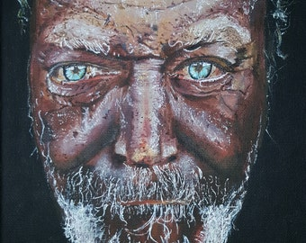 Portrait Painting - 'Old Man'