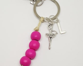 Personalized Dancer Keychain