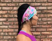 90's Girl   Yoga Headband   Workout Headband   Fitness Headband   Running Headband   Wide Headband   Pilates Headband   Barre Headband
