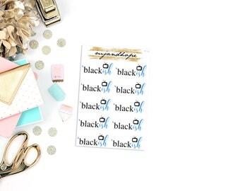 Blackish TV Show Stickers | TT17 | Teeny Tiny Planner Stickers