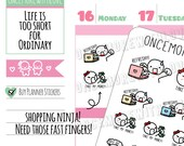 Munchkins -  Take My Money! Super Exclusive Online Shopping Planner Stickers (M371)
