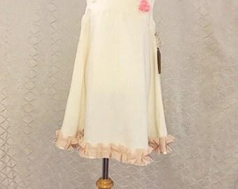 Princess Dress Cream & Beige.